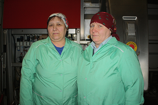 Жанна Аўдзеева і Святлана Карэцкая