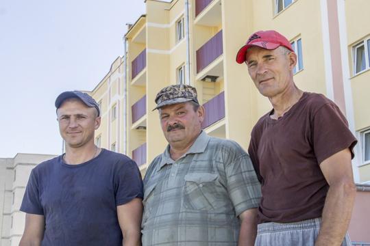 Уладзімір Дашкевіч, Валерый Цюльчанка, Юрый Увадаў