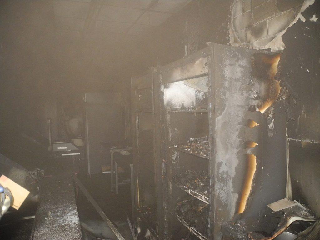 Пра пажар у Петрыкаве